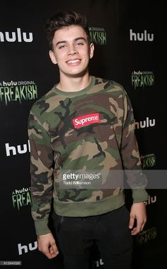 Hayes Grier attends Hulu Original 'Freakish' Premiere at Smogshoppe on October 5, 2016 in Los Angeles, California.