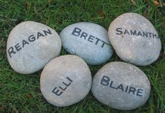 Personalized Engraved Garden Stone Inch Garden Stone Family Name Stones 16th Birthday Card, 50th Birthday Party Decorations, Personalized Birthday Gifts, Birthday Gifts For Her, 80th Birthday, Birthday Ideas, Personalized Garden Stones, The Family Stone, Christmas Gifts For Mom