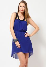 Vero Moda Hot Cobalt Blue Short Dress for Rs.1,695.00 - Rs.1,017.00 (Instant Discount) = Rs.678.00 with Free Shipping