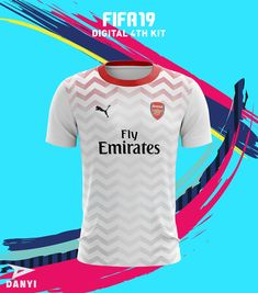 I designed some football kit for the upcoming FIFA game hope you like my project. Nike Football Kits, Fifa Games, Football Wallpaper, Shirt Designs, Jersey Designs, Arsenal, Logo Design, Soccer, Digital