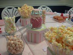 Princess Party Food Pink Popcorn