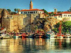 Antalya port, Türkiye.. beautiful scenery