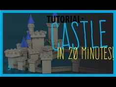 Low Poly Blender Tutorial: A Castle! - YouTube