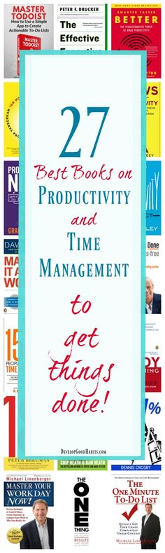 Best Productivity & Time Management Books: self help books | best books | time management books | best book lists | book reviews | best book reviews | personal development books | books to read | must read booksww  |productivity at work | productivity tools | #Books #book #bookstagram #ebook #ebooks #bookworm #selfhelp #selfcare #personaldevelopment #productivity #productive