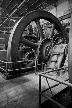 old traditional Steel Mill