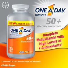 One A Day 50  Advantage multivitamin for Women, 220 count -- Find out more at the image link.