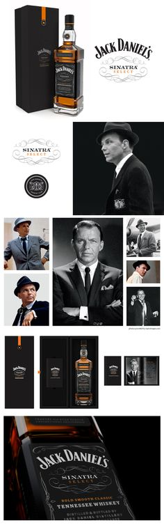 Jack Daniel's Sinatra Select movie star #packaging Celebrity packaging throwdown please share yours PD