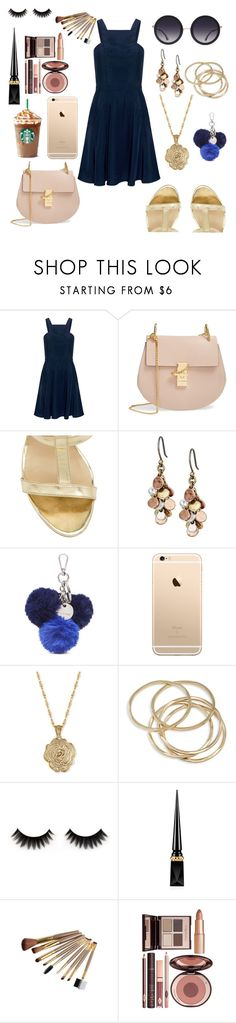 """Untitled #184"" by kawaiipotato0 ❤ liked on Polyvore featuring Finders Keepers, Chloé, Dee Keller, Lucky Brand, Nine West, 2028, ABS by Allen Schwartz, Christian Louboutin, Charlotte Tilbury and Alice + Olivia"