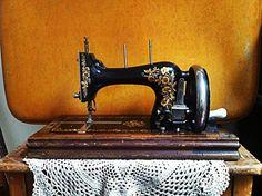 Beautiful Hermann Kohler antique sewing machine for sale <3
