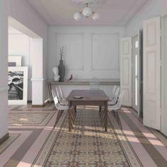 carrelage carreau aspect ciment angle guell saint maclou. Black Bedroom Furniture Sets. Home Design Ideas