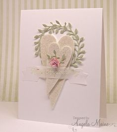 IC513 Two Hearts by Arizona Maine - Cards and Paper Crafts at Splitcoaststampers - her inspiration was https://www.pinterest.com/pin/25473554117291155/