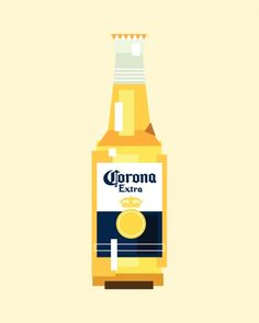 Icobeer Corona Beer Bottle
