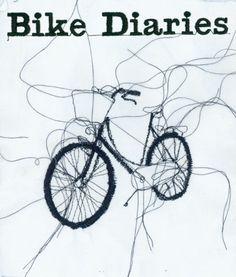 Bike Diaries. Embroidery Illustration by Rosie Geissler