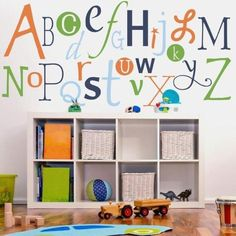 Alphabet Fun Kids Wall Decal