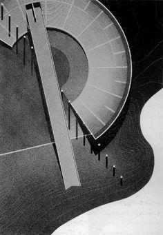Theatre on the Water, Hokkaido, Japan, by Tadao Ando [1986]