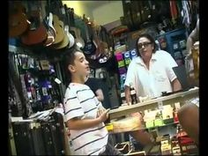 Little Boy Shocks a Guitar Store Owner with his Incredible Voice... Damn, this kid is good.
