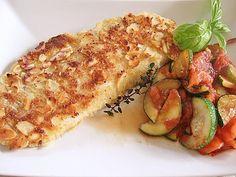 Rotbarschfilet mit Ei - Mandel - Kruste, ein tolles Rezept aus der Kategorie Fisch. Bewertungen: 10. Durchschnitt: Ø 4,2.