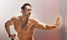 Wow! What a chiseled look of Ajay in 'Action Jackson' #AjayDevgn #ActionJackson #Movies2014 #Celebs #Bollywood #Likes  Get hooked to your fav star, visit www.follo.co.in/ajaydevgan