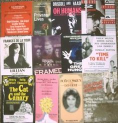 Theatre Handbills/Flyers Selection of 12 assorted all in good condition H08