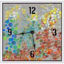 Analog Contemporary Clocks | Wayfair