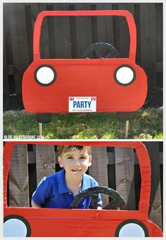 60 ideas for cars birthday party ideas photo booths Hot Wheels Party, Festa Hot Wheels, Hot Wheels Birthday, Race Car Birthday, Race Car Party, Boy Birthday, Birthday Ideas, Car Themed Parties, Cars Birthday Parties