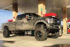 Mine looks exactky like this Lowered Trucks, Jacked Up Trucks, 4x4 Trucks, Ford Trucks, Muddy Trucks, Tonka Trucks, Funny Truck Quotes, Sterling Trucks, Diesel Trucks For Sale