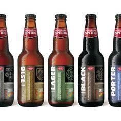 Okanagan Spring Brewery on the Behance Network
