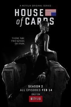 'House of Cards' Season 2 poster [click the image to watch the new trailer, too!]