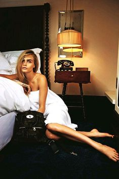Tangled Up In Bed With Cara Delevigne...   moviepilot.com