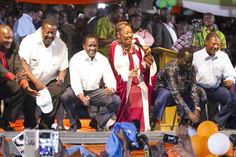 NASA is Kenya's Hope, Raila Says as Alliance Holds Its First Rally in Bomet