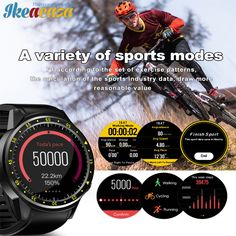 Smart Watch F1 with Camera GPS Positioning Sport Smartwatch SIM Card Wristwatch for Android IOS Phone Wearable Devices Ikeacasa Montre Orologio Uhr часы Reloj