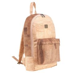 Veganer Rucksack «Medium» aus Kork – Montado – Kork Shop Schweiz Fashion Backpack, Backpacks, Bags, Medium, Vegan Products, Vegan Fashion, Fanny Pack, Pocket Wallet, Switzerland