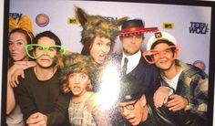 Teen wolf wrap party (December 2015)