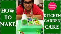 How to make Kitchen vegetable Garden cake design:fondant mixed vegetables cake ideas Happy Birthday Papa Cake, Cartoon Birthday Cake, Frozen Birthday Cake, Simple Fondant Cake, Cakes Without Fondant, Fondant Cake Designs, Baby Shower Cake Designs, Cake Designs For Girl, Simple Cake Designs