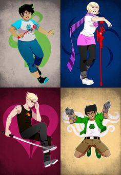 Homestuck: Alpha Kids by PunPuniChu on deviantART
