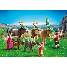 Playmobil Wysokie Góry Wypas na hali, 5425, klocki
