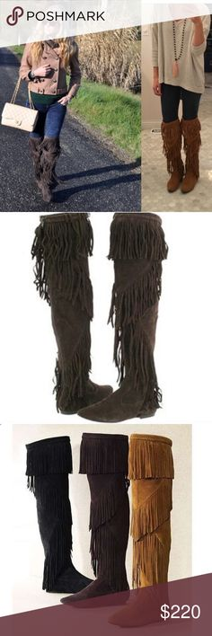Sam Edelman Uri Over the knee boot. Perfect for winter months with leggings, or paired with a romper at a festival. Color is the dark brown. Will post picture of actual boot today. Perfect condition! Questions ask! Sam Edelman Shoes Over the Knee Boots