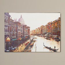 'Venice' Photographic Print on Wrapped Canvas