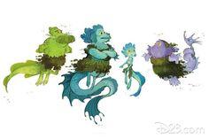 Des concept-arts du film Luca de Pixar | Disneyphile