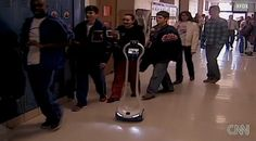 Student Lyndon Baty uses VGo Robot to attend school TX despite a weakened immune system that prevents him from attending in person.