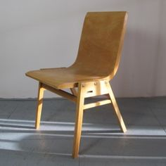 Located using retrostart.com > Stadthalle Dinner Chair by Roland Rainer for Unknown Manufacturer