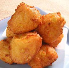 Frituritas de Maíz (Corn Fritters)  HispanicKitchen.com