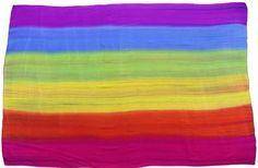 Rainbow canga/wrap www.copabikinis.com