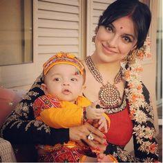 बेटे के साथ ऐसे क्वालिटी टाइम स्पेंड करती हैं गुलशन कुमार की बहू