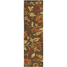 Safavieh Blossom Collection BLM861A Handmade Wool Area Runner, 2-Feet 3-Inch by 10-Feet, Brown and Multi #handmade Safavieh's Blossom Collection evokes the beauty of nature in its modern, floral patterns. These rugs bring modern elegance to any room in your home. These rugs are each handmade from 100-Percent pure, premium wool and employ modern hand-tufting techniques for added durability. These rugs feature intricate, floral designs and fresh, modern colors. Each rug has a dense, so..