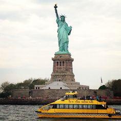 Statue of Liberty en New York, NY