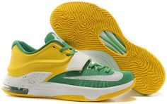 premium selection e0061 7f692 ... usa mens nike kd 7 oregon white yellow custom cheap kd if you want to  look