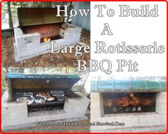 Here is a step by step tutorial of How To Build A Large Rotisserie BBQ Pit for glorious outdoor cooking that infuses the flavors of wood into a variety of foods. It is a great idea to have a backup alternative cooking option that does not include electricity on a homestead.   Material List: FOR …