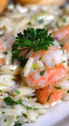Roasted Shrimp & Orzo - Ina Garten