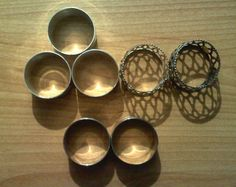 SILVER PLATED NAPKIN HOLDERS